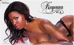 Keyonna Renae Show Black Lingerie Pictures