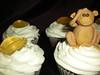 Monkeying Around II (cakebot_cakes) Tags: monkey cupcakes bananas jungle gumpaste