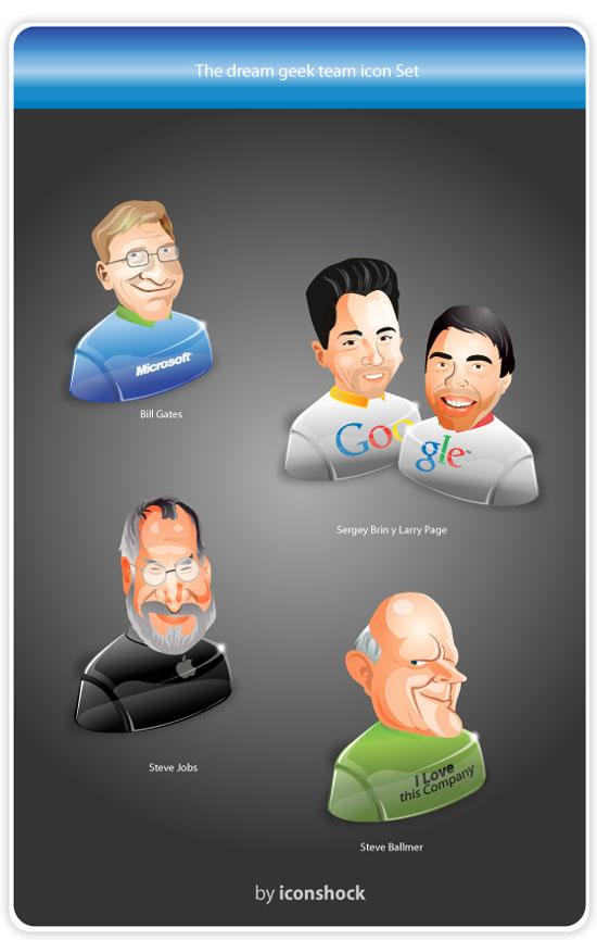 icones geek