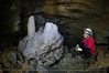 Michelle (Brina Bat (Sabrina Simon)) Tags: white rocks pretty mud caves cave caving stalagmite formations cccp limrock caver