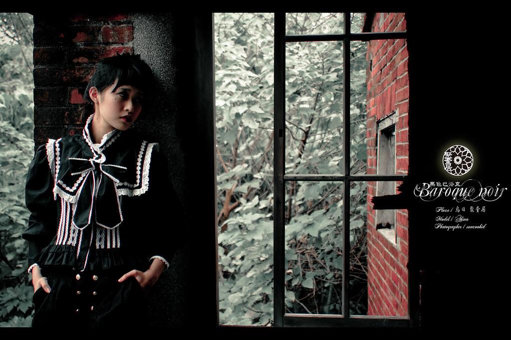 黑色 巴洛克  / 白色 圓舞曲   小貓 (聚奎居)