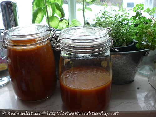 Süße Tomatensoße aus dem Slow Cooker