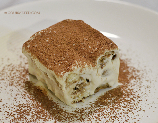 Homemade Tiramisu -- everything from scratch