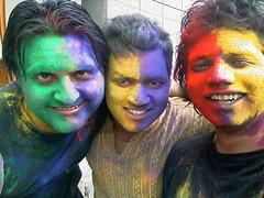 Tripod Holi (honeytech) Tags: colors festival holi colorsoflife happyholi honeytech honeytechblog colorsoffestival