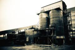 Factory (Dima Bushkov) Tags: old urban building abandoned industry factory silent toned oldbuilding devastation destroy kaliningrad