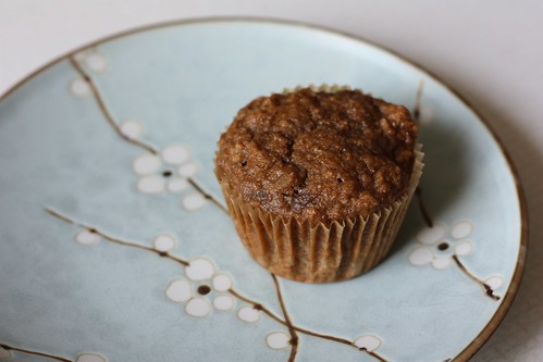 Healthy Banana-Date Muffin