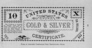 Veeder Gold and Silver Certificate