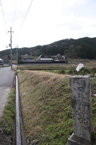妙見山参道 The approach to a shrine of the Myouken-san