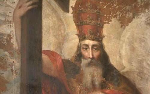 Fragmento de la Trinidad del Monasterio de Santa Isabel, Medinaceli