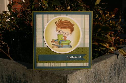 bookworm/een boekenwormpje