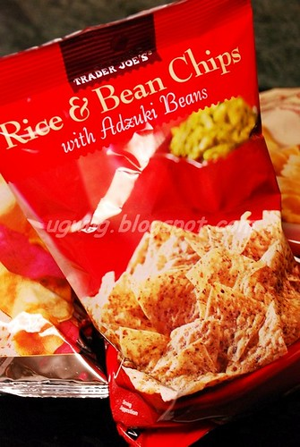 Rice & Bean Chips with Adzuki Beans