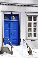 Blue door (Tone aka Hobbygaasa) Tags: door blue norway gjvik