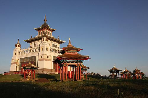 The Golden Temple of Shakamuni, Elista, Kalmykia