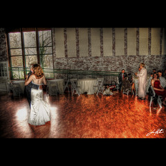 May I Have This Dance... (HuTDoG83) Tags: wedding dance nikon dress father daughter reception gown hdr photomatix d40 tonemap hutdog83