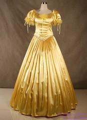 Divine gold dress (Sabrina Satin1) Tags: feminine sissy crossdresser ballgown crossdressingfantasy