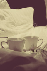 .. (- M7D . S h R a T y) Tags: uk london bed unitedkingdom theend hotchocolate pillow cover wakeup goodmorning calmness wordsbyme london2010 allrightsreserved londonsdiary~7