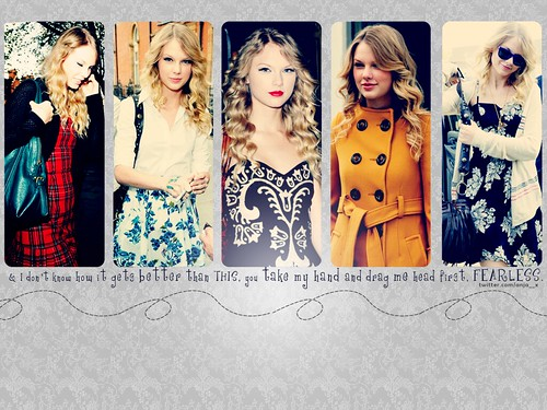 Taylor Swift wallpaper by anjaaa ! ♥. click 'All sizes', it's 1024x768