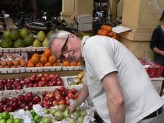 P1250473 - Me shopping in the market (wimbledonian) Tags: vietnam yen bai yenbai