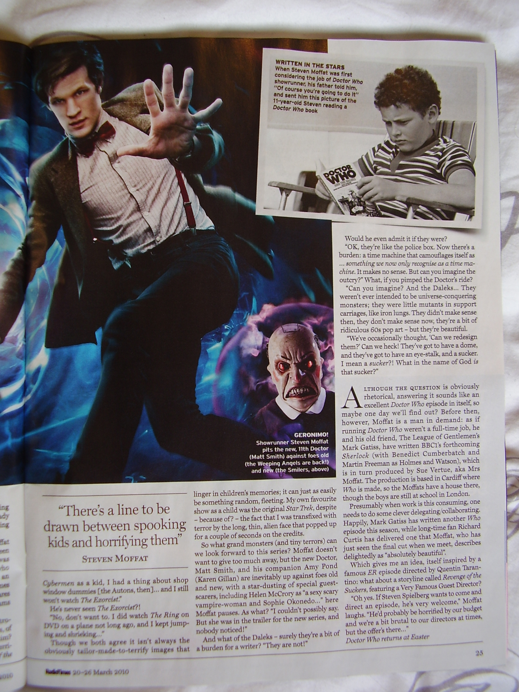 Radio Times - Moffat interview [Page 2]