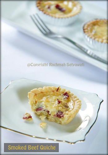 Smoked Beef Quiche