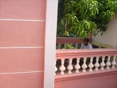 balcony (sootix) Tags: french quiet healing auroville 2010 pondy pondycherry puducherry