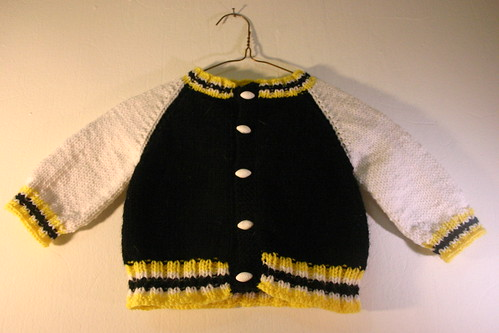 Baby Steelers Jacket - front (1)