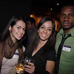 Yvonne Mejia (MSB '09), Jackie Mendez (MSB '09), Jon Okon (COL '10)