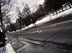 Spadina Rd (AshtonPal) Tags: winter snow toronto vanishingpoint foresthill blogto torontoist urbantoronto emptyroad spadinard torontostreetphotography