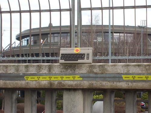 Im Alter Vereint AKW Neckarwestheim 1976 und C64 von 1981