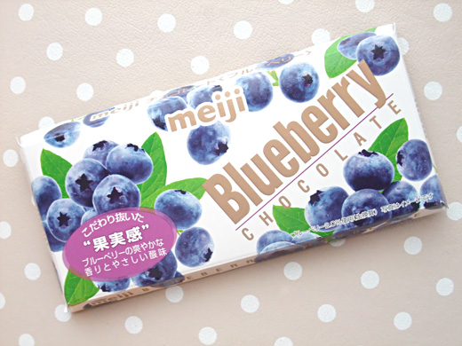 blueberry chocolate