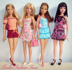 Barbie Fashion Fever Spring/Summer Style (Fashion_Luva) Tags: summer fashion spring pretty feminine barbie style fresh teresa fever raquelle