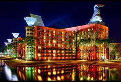 The Swan and Dolphin Resort (Jeff_B.) Tags: hotel evening orlando epcot swan florida dolphin disney disneyworld boardwalk wdw waltdisneyworld westin magickingdom whimsical michaelgraves waltdisney lapidus disneyhotel cresentlake disneyphotography disneyphotograph alanlapidus