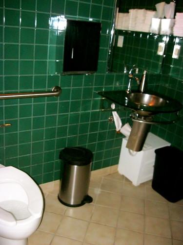 Ad Hoc's bathroom