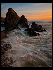Rocky Coast (Lance Rudge) Tags: sunset beach oregon landscape nikon colorful northwest rocky rugged d3 seastacks 1735 centraloregoncoast bwnd lancerudge
