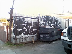 ESTE RECK (Over All Crooks) Tags: graffiti la ska otr este bla reck nct gsf