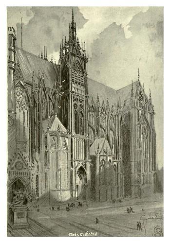 017-Catedral de Metz-Alsace-Lorraine-1918- Edwards George Wharton