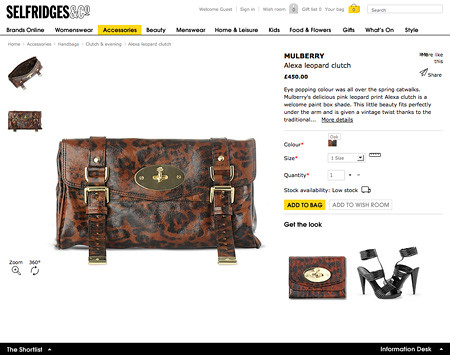 Product Page - Selfridges.com