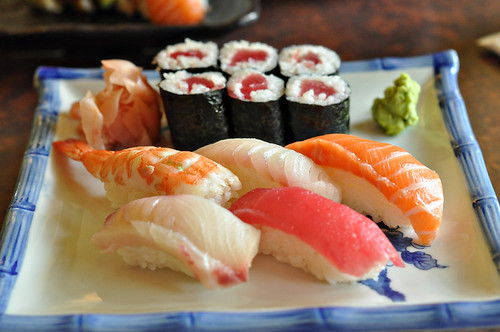 Sushi Lunch Special at Fuji Ya