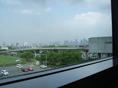 MAKATI TROUGH THE WINDOW @ NAIA T3