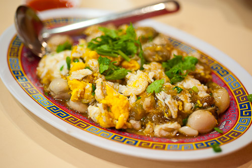 Or suan, oyster omelet, Tang Jua Lee, Bangkok