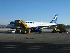 Finnair at Salzburg airport