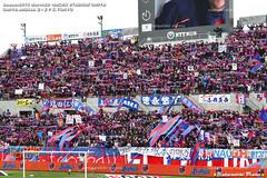 大宮vs東京 FC東京ゴール裏