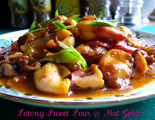 Sotong Sweet Sour