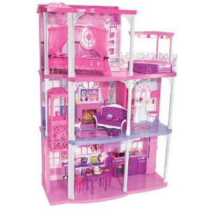Barbie Pink 3-Story Dream Townhouse