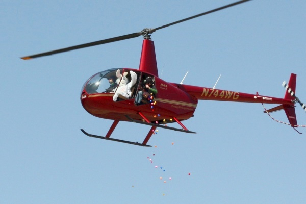 Cartersville Egg Drop - helicopter 1