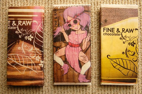 Fine & Raw chocolate bars