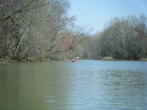 Tim on the Saluda