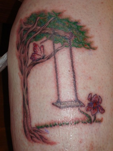 Swing Tattoo: Colleen Stitches In Time: Tattoo Of The Kids