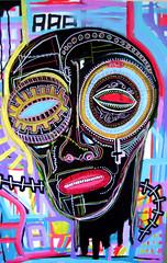 aaa (Kauê Garcia) Tags: me painting punk galeria bad uma expressionism neo garcia disorder favor negra por cabeça conte mentira posca acrílica kauê