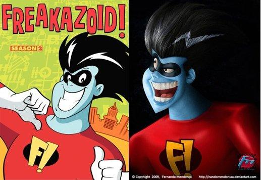 Freakazoid real